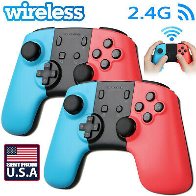 US Wireless Pro Controller Joypad Gamepad Remote For Nintendo Switch Console St • 22.99$