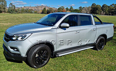 AU389 • Buy (#902) Running Boards Side Steps For SSANGYANG MUSSO MUSSO XLV Dual Cab 18-20
