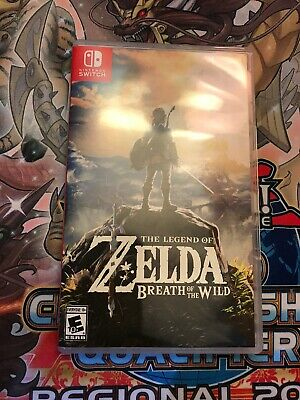 Legend Of Zelda: Breath Of The Wild (Nintendo Switch, 2017) Game + Case • 44.95$