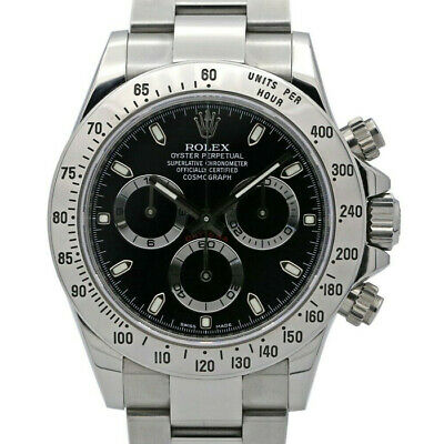 $ CDN42811.83 • Buy Rolex Daytona 116520 Men's Stainless Steel Automatic Black 1 Year Warranty