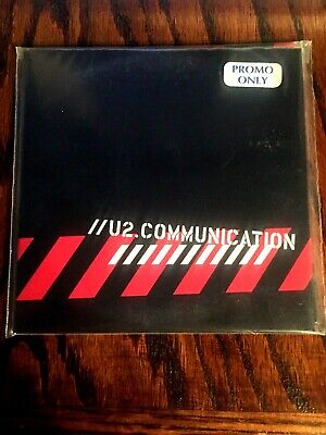 U2: PROMO Communication 2-Disc Set / MUSIC AUDIO CD Limited Live RARE U2 CD   • 45$
