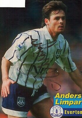 £4.99 • Buy Anders Limpar (Everton) Signed Picture