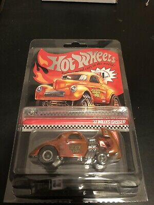 2019 Hot Wheels RLC Red Line Club '41 WILLYS GASSER #2619/10000 41 WILLY'S 1941 • 20.50$