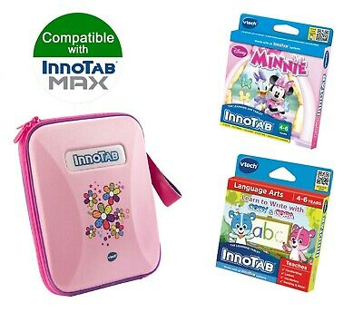 £19.99 • Buy Vtech InnoTAB Max Game & Carry Case Bundle Pink 4-6 Years