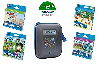 Vtech InnoTAB Max Game & Carry Case Bundle Blue - 4-7 Years (4 Games + 1 Case) • 22.49£