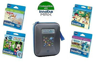 £29.99 • Buy Vtech InnoTAB Max Games & Carry Case Bundle Blue - 4-7 Years (4 Games + 1 Case)