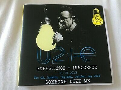 U2 - Someone Like Me Tour 2018 Live The O2 Night 2 80s Rock RARE 2CD 10-24-18 • 39.99$