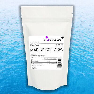 £7.99 • Buy Nutrics® Collagen Powder Protein High Grade Unflavoured Hydrolysed 100%Pure Fish