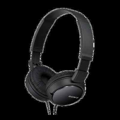 £14.95 • Buy Sony MDR-ZX110 Stereo / Monitor Over-Head Headphones Black
