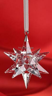 Swarovski Crystal Christmas Star Ornament Clear 5064257 Mint Boxed Retired • 69£