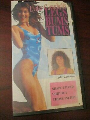 Lydia Campbells Legs Bums And Tums   VHS Video Tape  • 4.99£