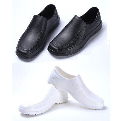 £9.99 • Buy Men Chef Shoes In Kitchen Nonslip Safety Shoes Oil & Water Proof For Cook Newest