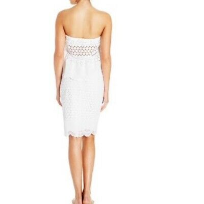 AU30 • Buy Tigerlily White Balchick Skirt Size 8 Summer Pencil Wiggle Skirt RRP $249.95