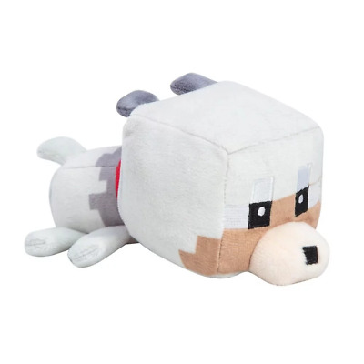 AU20.95 • Buy Minecraft Mini Crafters Tamed Wolf 4.5 Plush NEW