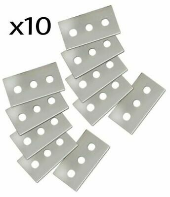 Glass And Ceramic Hob Scraper Replacement Blades Pack Of 10  81126x2 • 4.45£