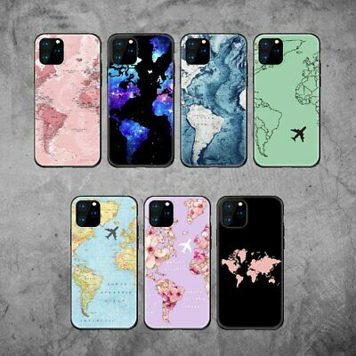 £4.55 • Buy World Map Travel Passport Soft Case Cover Skin For Iphone 11 Pro X XS Max XR 7 8