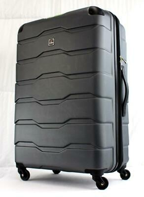 "View Details TAG MATRIX 2.0 28"" EXPANDABLE HARDSIDE SPINNER SUITCASE GRAY USED • 54.87$"