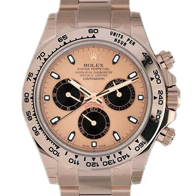 $ CDN51178.48 • Buy Rolex Daytona 116505 Men's Rose Gold Automatic Pink 1 Year Warranty