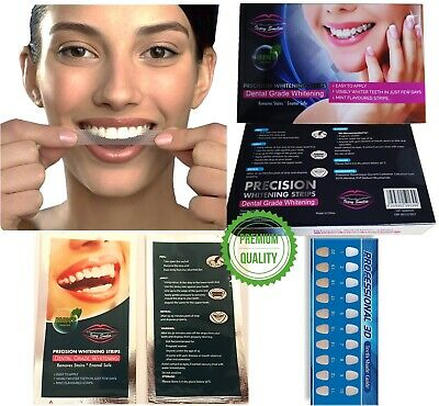 AU7.21 • Buy 28 Teeth Whitening Strips Home Tooth Bleaching Advanced Strip White Quick Result