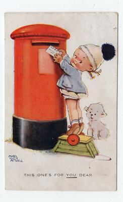 THIS ONE'S FOR YOU DEAR: Artist Postcard By Mabel Lucie Atwell (JH5065) • 7£