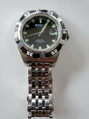 Breil Milano Manta 1970 Automatic 300M Diver Watch Limited Edition 0258/1970 • 319.99£