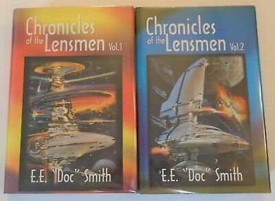 $24 • Buy Chronicles Of The Lensmen By E.E  Doc  Smith, SFBC Vol 1&2