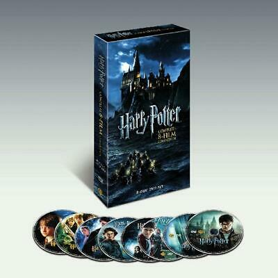 $ CDN61.84 • Buy Harry Potter 8-Film Complete Film Collection Dvd Blu Ray New Set Disc Sealed