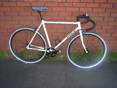 View Details FUJI Track Classic Fixed Fixie Pista Bicycle Road Urban Size 56cm Medium Large • 350.00£