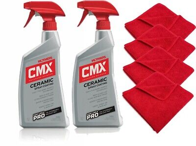 $29.99 • Buy Mothers 01024 CMX Ceramic Spray Coating Powerful Blend Of SiO2  Protect - 2 PACK