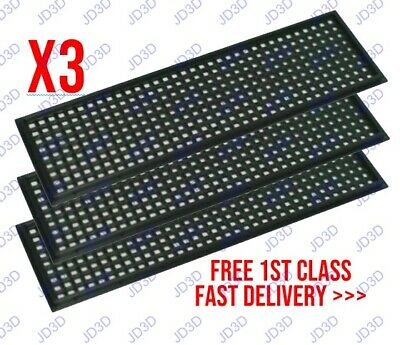 3x Improved Black Universal 3D Printed Customisable IO Shield Motherboard Plate • 6.45£