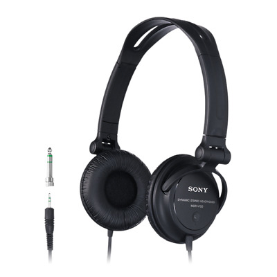 Sony MDRV150 Sound Monitoring DJ Full Ear Headphones With Reversible Earcups • 17.99£