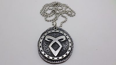 The Mortal Instruments Metal Pendant Necklace Tv Show Angelic Power • 6.51£