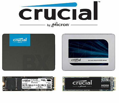AU36.90 • Buy Crucial SSD M.2 2.5  BX500 MX500 P1 Internal Solid State Drive Desktop PC Laptop