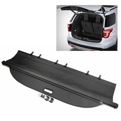 $99.81 • Buy Rear Trunk Cargo Cover Security Shield Shade Black Fit Ford Explorer 2011-2017