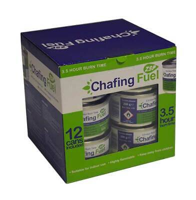 £18.50 • Buy 12x Chafing Dish Fuel Gel Cans 3.5 Hour Non Toxic,Catering, Smokeless, Buffet