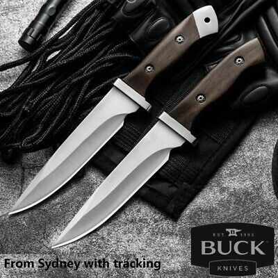 AU28.95 • Buy Buck Hunting Knife Camping Survival Fixed Blade