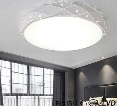 £190.45 • Buy Round LED Ceiling Chandeliers For Living Room Bedroom Home Modern White Fixture