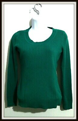$6.99 • Buy Merona Women Size M Pullover Knit Top Sweater Long Sleeves