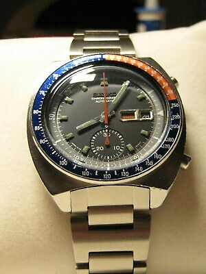 $ CDN1199.64 • Buy Original Seiko 6139-6002 Pogue Vintage Herren Armbanduhr Chronograph April 1973