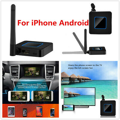 $32.76 • Buy Car Home Wireless Wifi HD Display Smart TV Stick Dongle Mirror Link HDMI Dongle