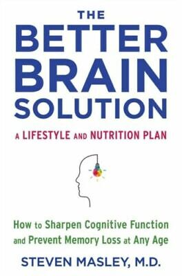 $12.45 • Buy THE BETTER BRAIN SOLUTION: How To Sharpen Cognitive Function  (0525433244)