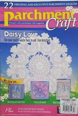 £10.71 • Buy Parchment Craft UK April 2015 Daisy Love Paper Love Cards FREE SHIPPING CB
