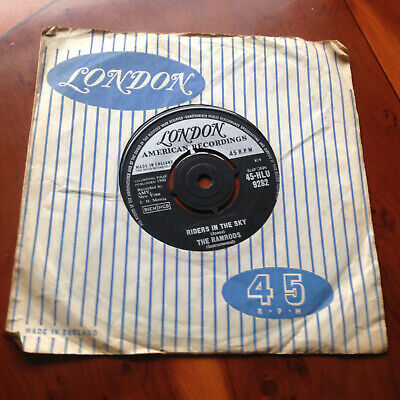 The Ramrods - Riders In The Sky  ...uk London 45 • 4£