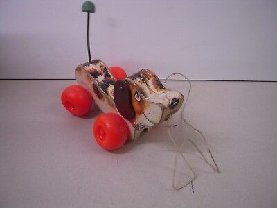 Vintage Fisher Price Little Snoopy Pull Along Dog Toy - 693 • 14.99£