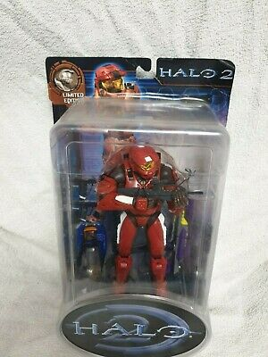 HALO 2 Limited Edition Master Chief Spartan With Heavy Plasma Rifle BR New Rare • 77.05£