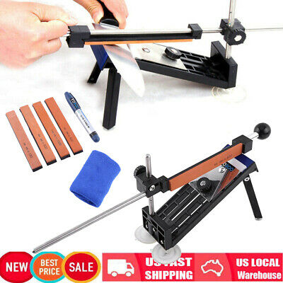 $20.70 • Buy Fix-angle Knife Sharpener Professional Kitchen Sharpening System Kits W/4 Stones