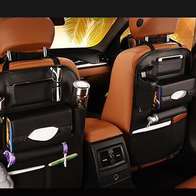 $ CDN29.80 • Buy Car Auto Multi-Pocket Rear Seat Organizer Drink Holder Bag Storage Accessories