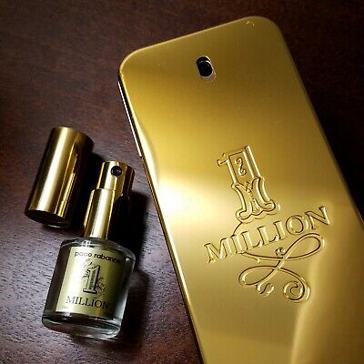 $ CDN17.28 • Buy 10ml ONE THIRD OUNCE! SAMPLE ONLY! 1 Million By Paco Rabanne Travel Spray One