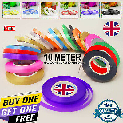 $2.47 • Buy 10 METER Curling String Colour 5mm GIFT Balloon Ribbon Balloons Weight Gift Deco