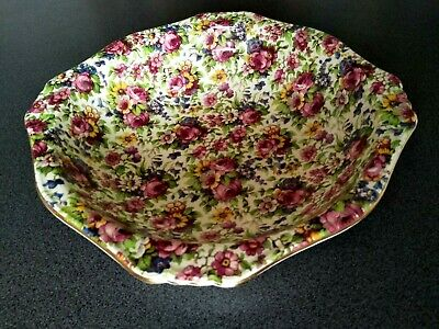 $ CDN157.61 • Buy Large Royal Winton Summertime Chintz Pottery Serving Bowl Grimwades England